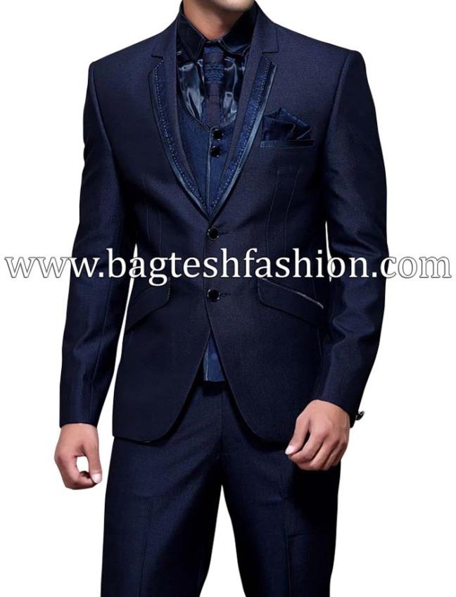 Wedding Notched Lapel Tuxedo Suit